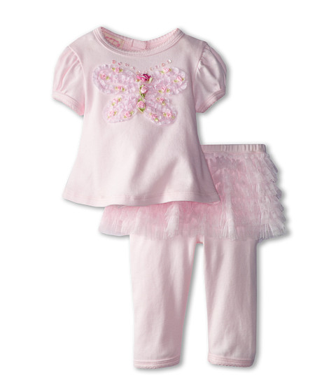 Biscotti - Fly Fly Away Top And Tutu Legging (Infant) (Pink) Girl