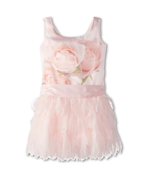 Biscotti - A Rose Is A Rose Ruffles Dress (Toddler) (Pink) Girl's Dress