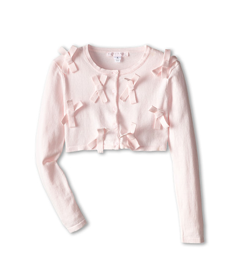 Biscotti - Forever Young Bows Sweater (Big Kids) (Pink) Girl