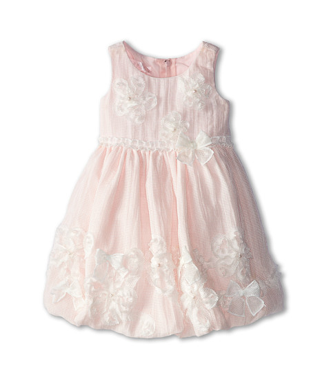 Biscotti - My Sweet Love Baby Dress (Toddler) (White/Pink) Girl's Dress