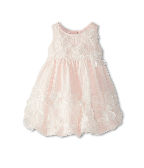 Biscotti - My Sweet Love Baby Dress (Infant) (White/Pink) Girl