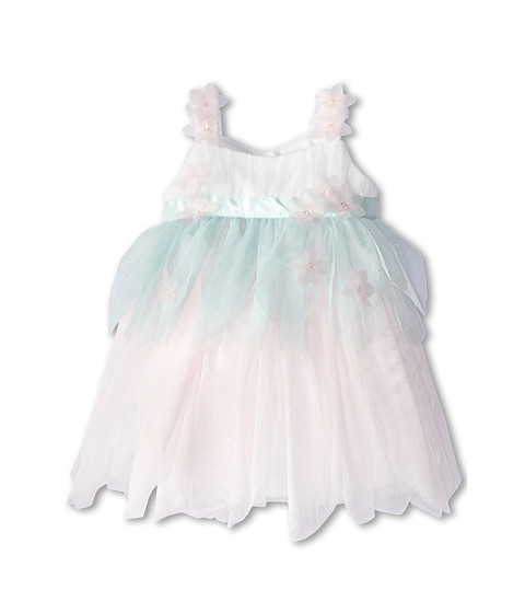 Biscotti - Birthday Girl Netting Petals Dress (Infant) (Multi) Girl's Dress