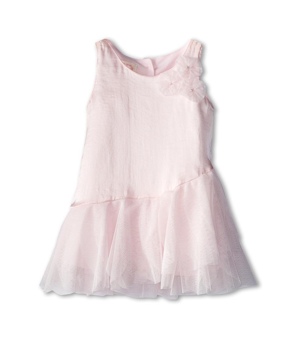 Biscotti - Birthday Girl Silky Sateen Dress (Infant) (Pink) Girl