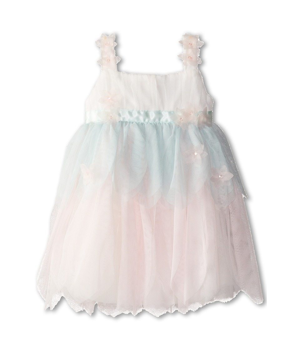 Biscotti - Birthday Girl Netting Petals Dress (Toddler) (Multi) Girl's Dress