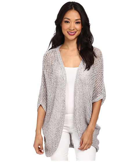 LAmade - Marbel Cocoon Cardigan (Salt & Pepper) Women's Sweater