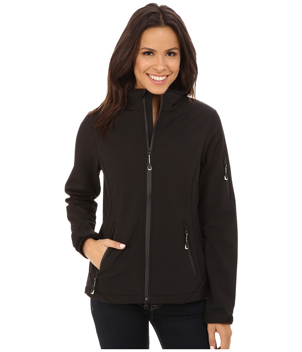 Roper - Black Softshell Jacket (Black) Women's Coat