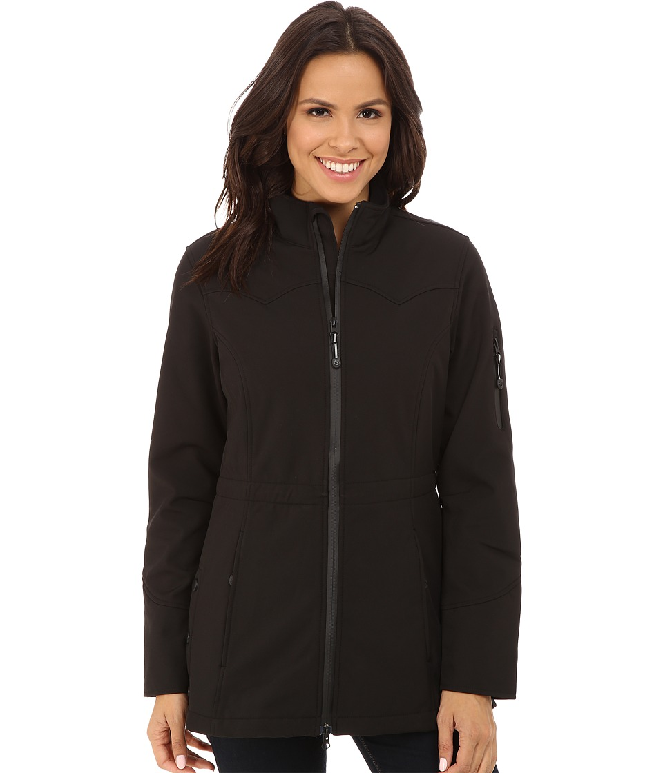 Roper - Black Softshell Barn Jacket (Black) Women