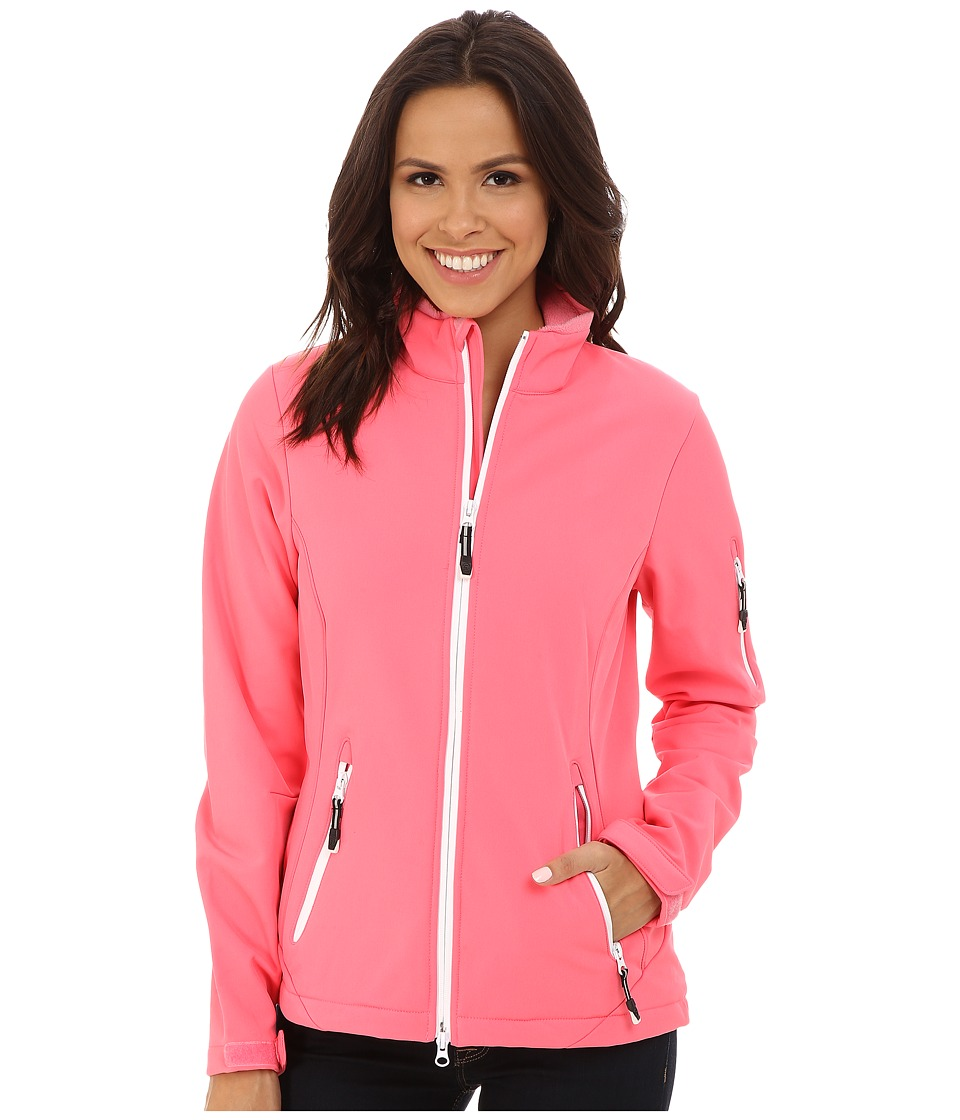 Roper - Pink Soft Shell Jacket (Pink) Women's Coat