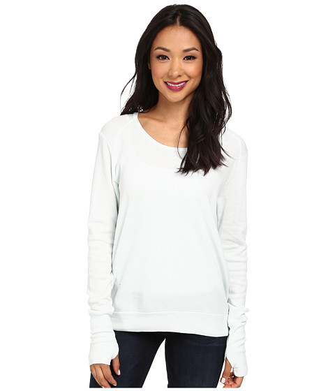 LAmade - Thermal Top With Thumbholes (Ice) Women's Long Sleeve Pullover