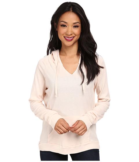 LAmade - Thermal Hoodie Pullover (Peony) Women's Sweatshirt