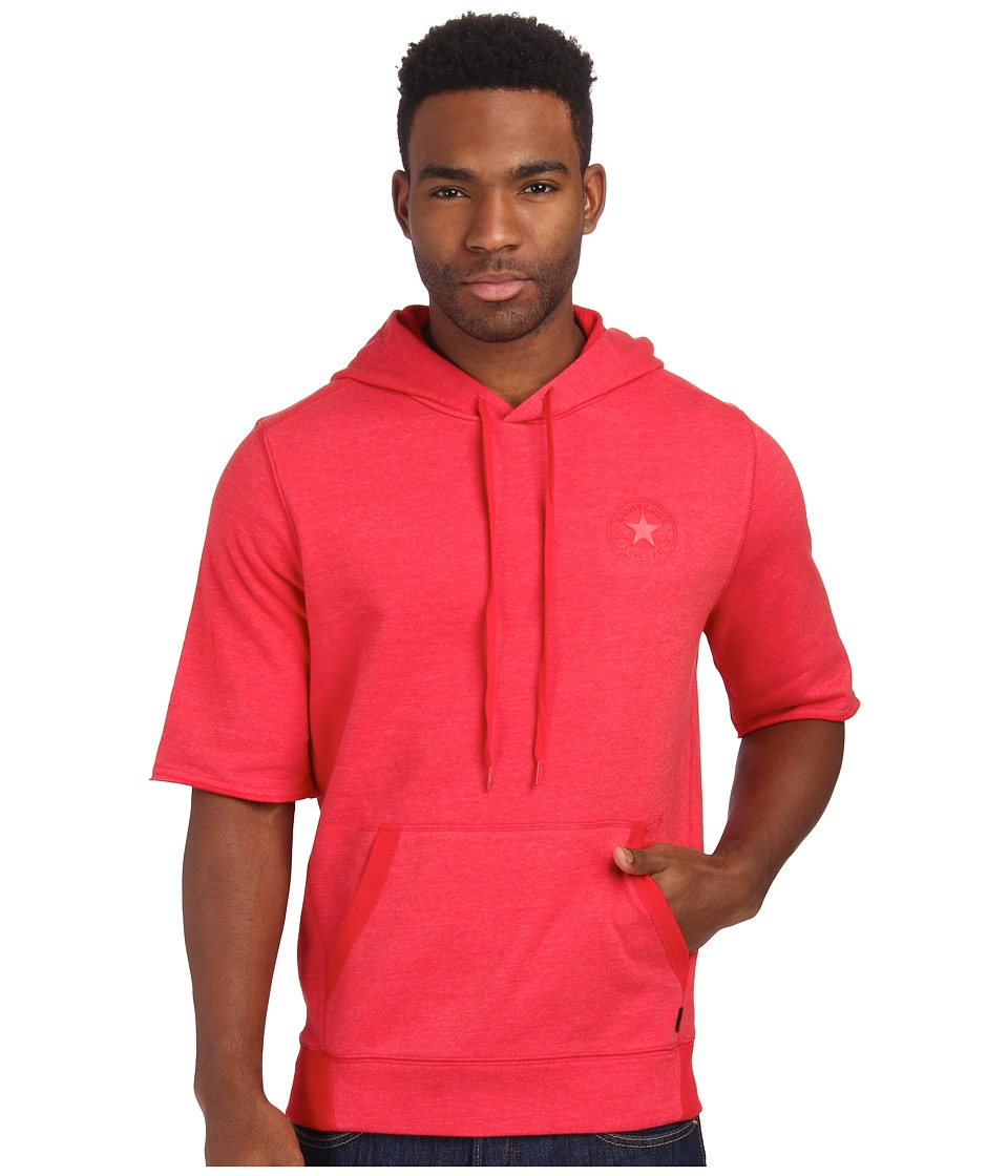 Converse - Core Plus French Terry S/S Po Fleece Hoodie (Casino) Men's Sweatshirt