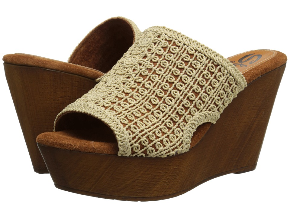 Sbicca - Morrobay (Natural) Women's Wedge Shoes