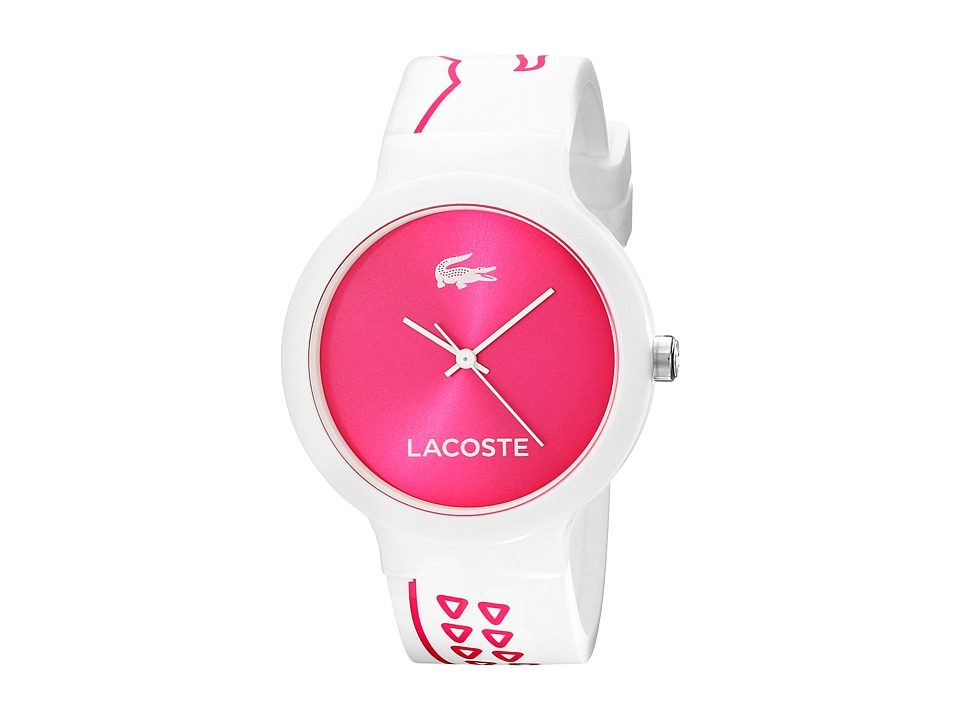 Lacoste - 2020093 (White/Pink) Watches