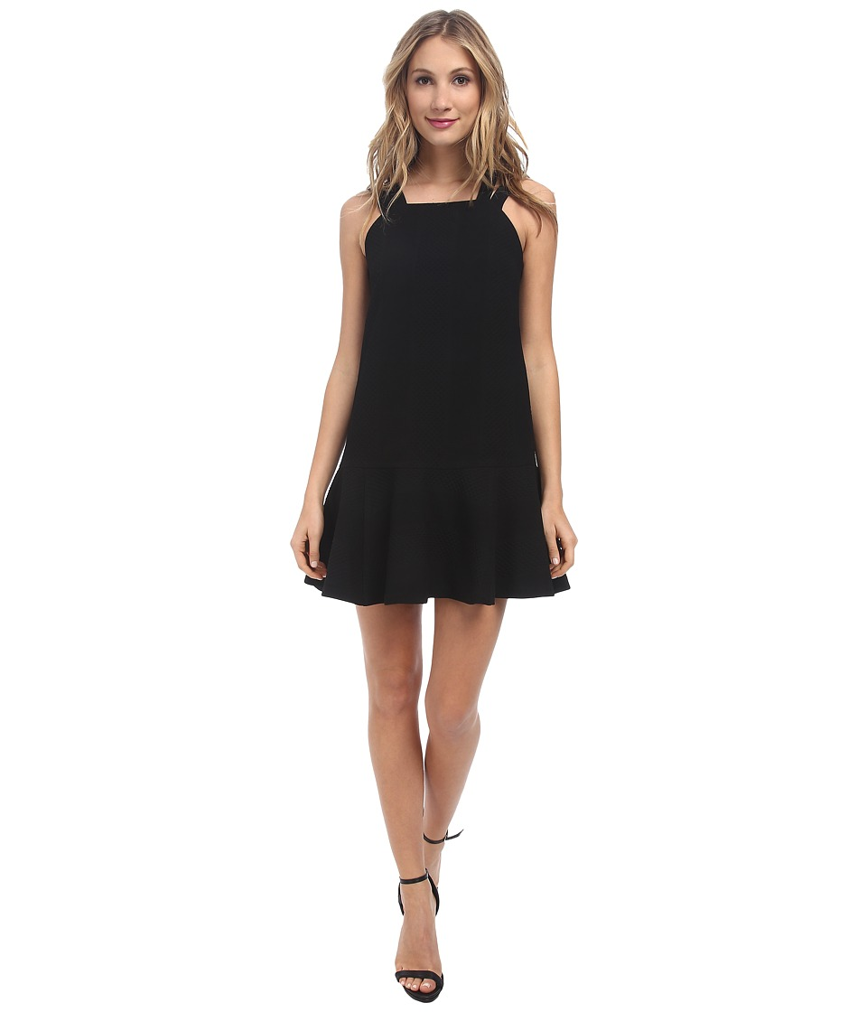 Nanette Lepore - Floatin' Cloud Dress (Black) Women's Dress