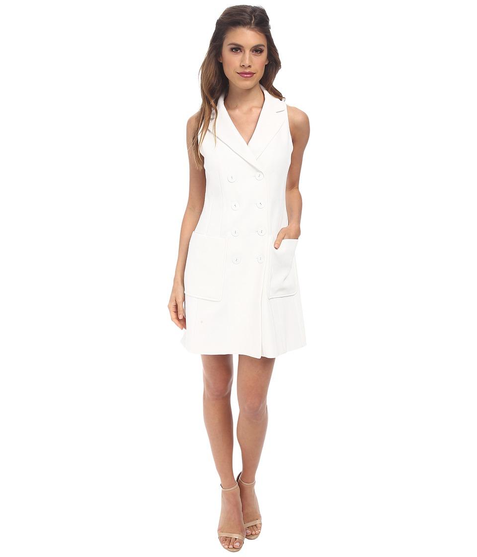 Nanette Lepore - Venture Vest Dress (White) Women's Dress