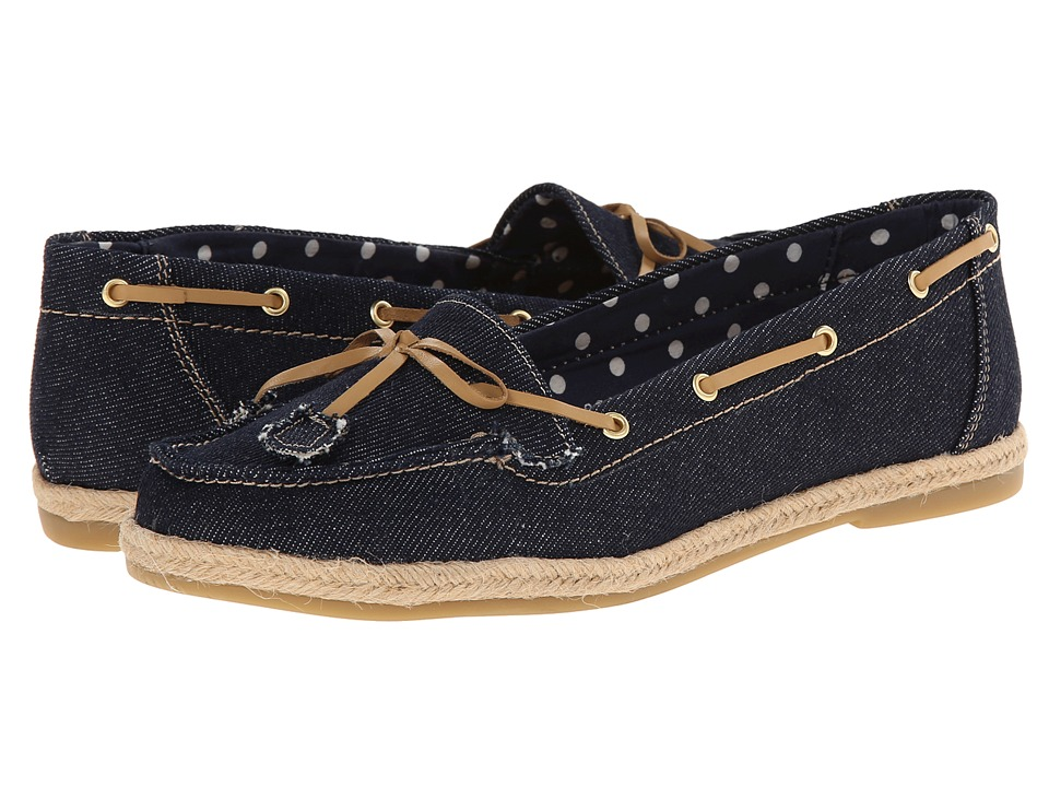 Fitzwell - Joanna (Denim Canvas) Women's Flat Shoes