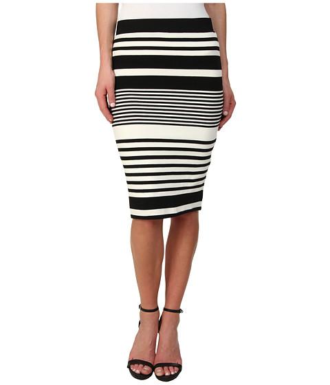 Trina Turk - Adelisa Skirt (Black/Ivory) Women