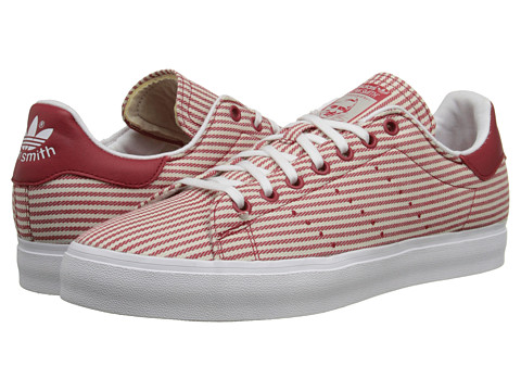 adidas Originals - Stan Smith Vulcanized Canvas (Collegiate Red/Cream White/White) Men's Shoes