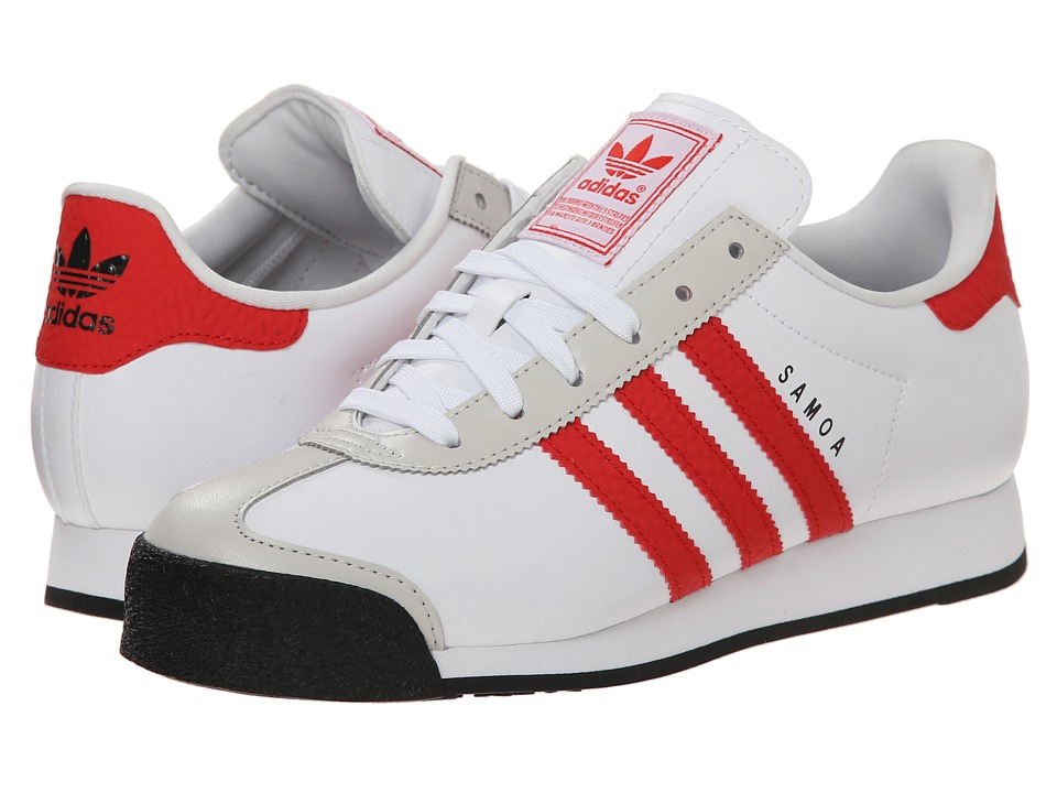 adidas Originals - Samoa Energy (White/Red/Black) Men