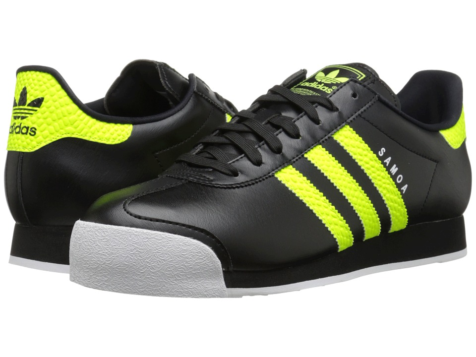 adidas Originals - Samoa Energy (Black/Solar/Yellow/White) Men's Shoes