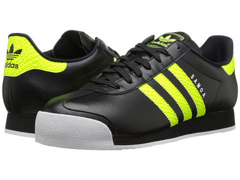adidas Originals - Samoa Energy (Black/Solar/Yellow/White) Men