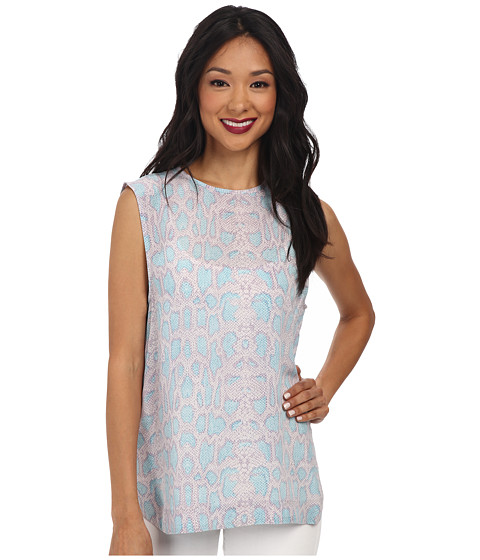 EQUIPMENT - Kyle Top (Lilac Marble Multi) Women's Sleeveless