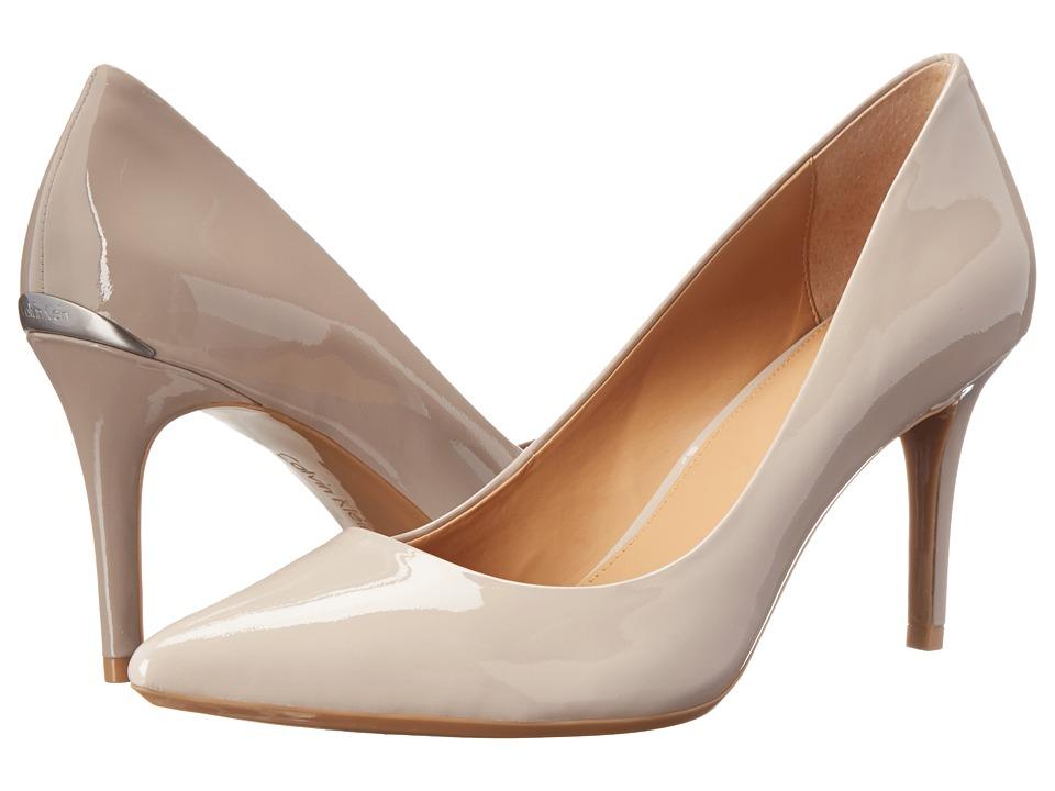 Calvin Klein - Gayle (Greige Patent) High Heels