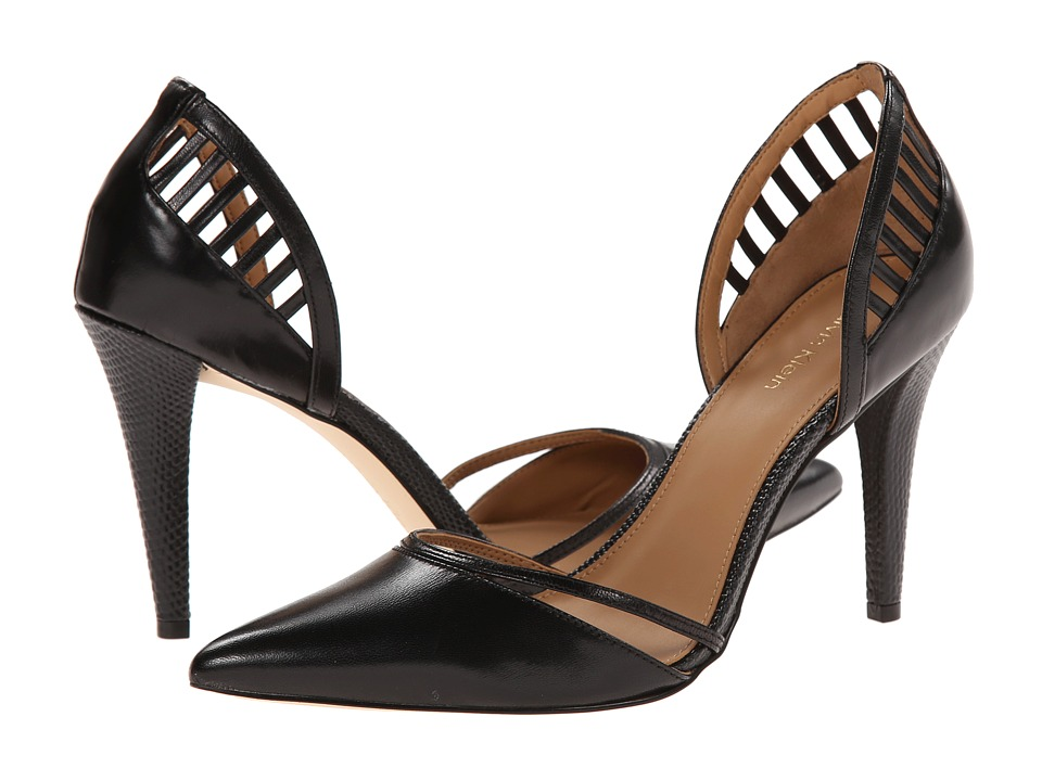 Calvin Klein - Gilia (Black Kid Skin) High Heels
