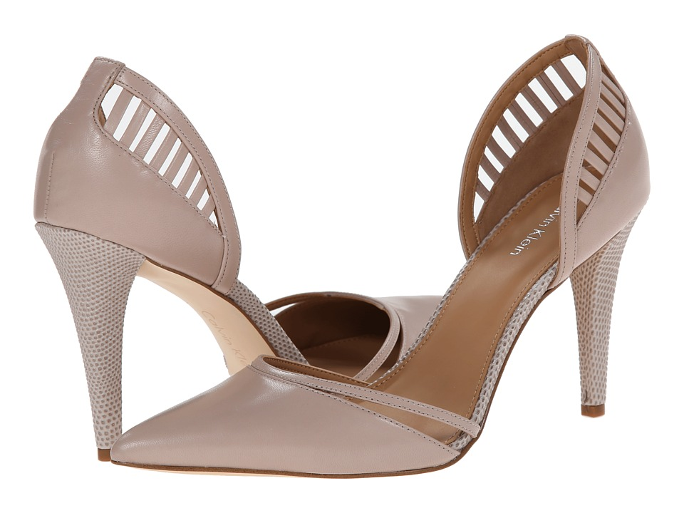 Calvin Klein - Gilia (Greige Kid Skin) High Heels