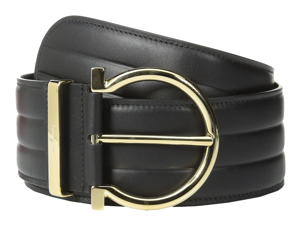 Salvatore Ferragamo - 23B287 (Nero) Women's Belts