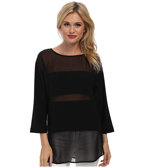 Trina Turk - Imara Top (Black) Women's Clothing