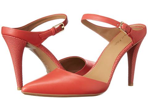 Calvin Klein - Ginnie (Lacquer Red Cow Silk) High Heels