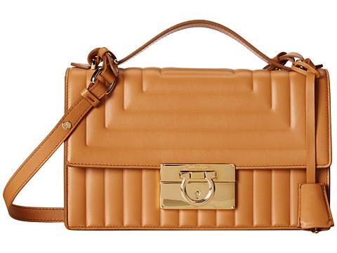 Salvatore Ferragamo - 21F205 Aileen (Sienne) Cross Body Handbags