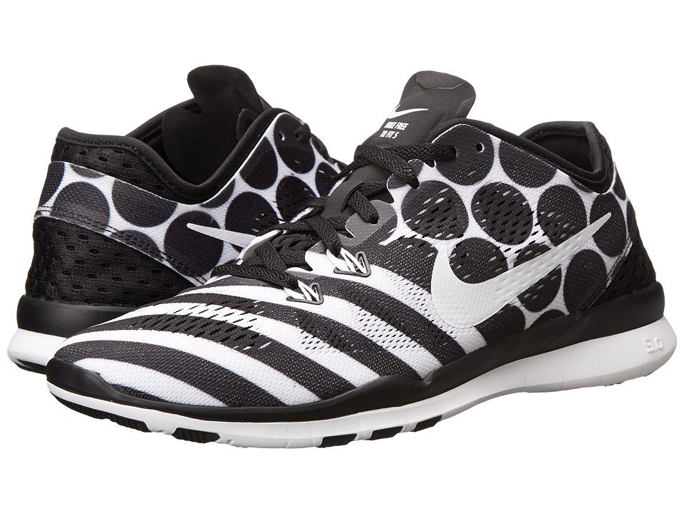 Nike - Free 5.0 TR Fit 5 PRT (Black/White) Women