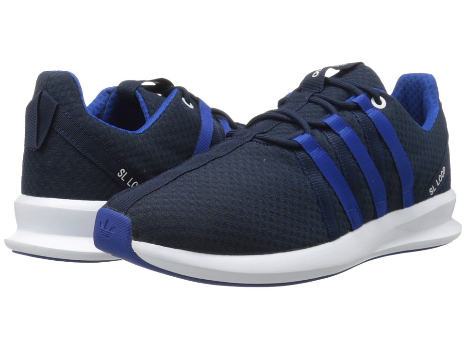 adidas Originals - SL Loop 2.0 Split Racer (Collegiate Navy/White/Collegiate Royal) Men's Running Shoes