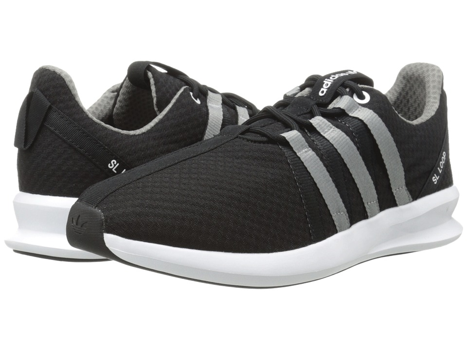 adidas Originals - SL Loop 2.0 Split Racer (Black/White/Charcoal Solid Grey) Men's Running Shoes