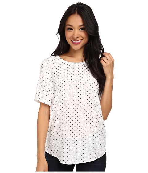 EQUIPMENT - Riley Tee (Bright White) Women's T Shirt