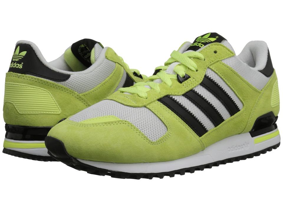 adidas Originals - ZX 700 (Light Flash Yellow/Black/White) Men's Classic Shoes