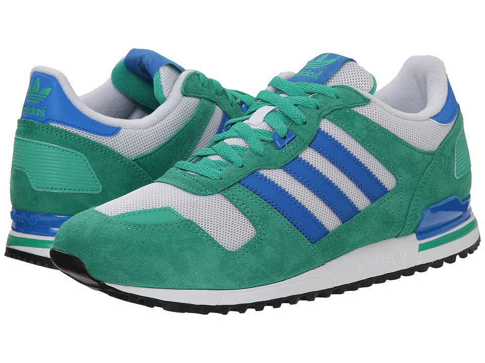 adidas Originals - ZX 700 (Surf Green/Bluebird/White) Men's Classic Shoes