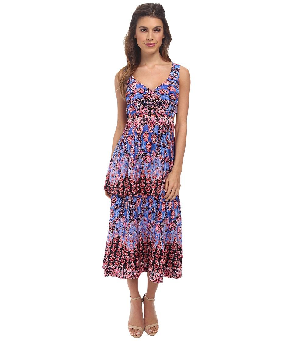 Nanette Lepore - Unscripted Dress (Blue Sky Multi) Women's Dress