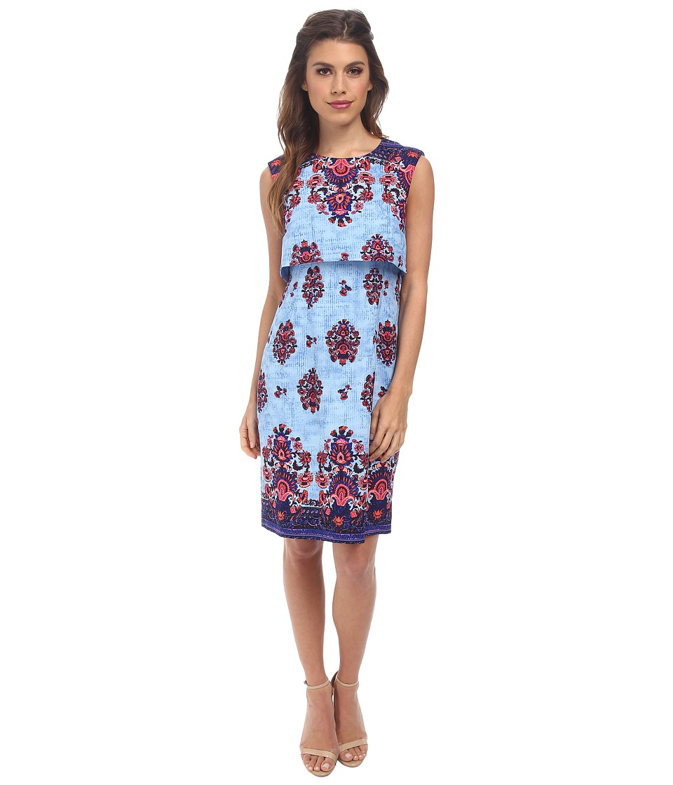 Nanette Lepore - Jodhpur Dress (Blue Sky Multi) Women's Dress