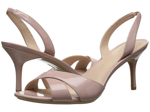 Calvin Klein - Lucette (Dusty Pink Patent Leather) Women's Dress Sandals
