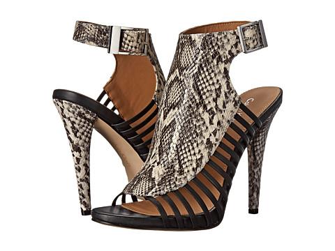 Calvin Klein - Nalani (Black/White/Black Snake) High Heels