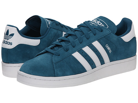 adidas Originals - Campus 2 (Surf Petrol/White/Surf Petrol) Men's Shoes