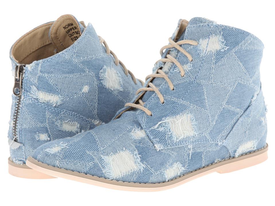 Matisse - Norm (Denim) Women's Lace-up Boots