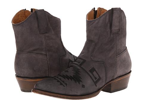 Matisse - Remington (Charcoal) Cowboy Boots