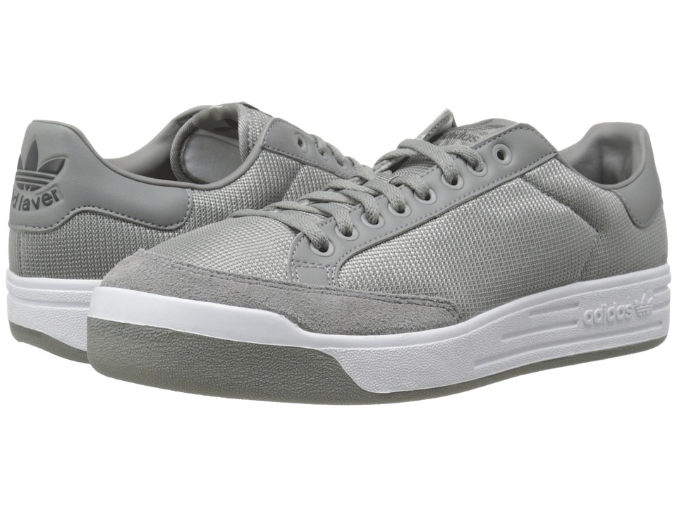 adidas Originals - Rod Laver CS (Charcoal Solid Grey/Charcoal Solid Grey/White) Men's Shoes