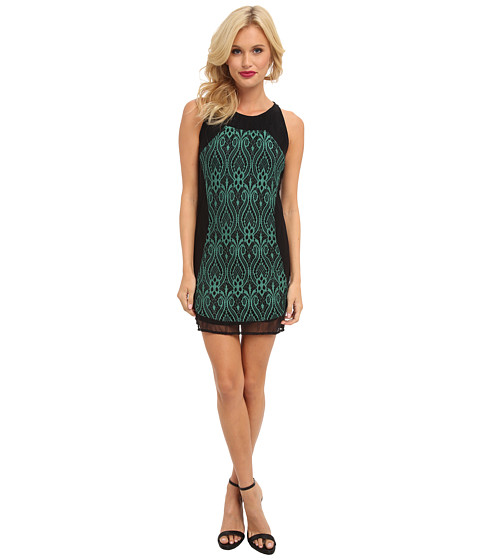 KAS New York - Harriet Dress (Green) Women's Dress