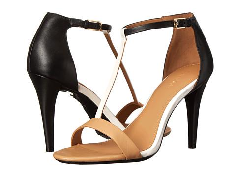 Calvin Klein - Nasi (Sand Gold/Parch White Nappa) High Heels