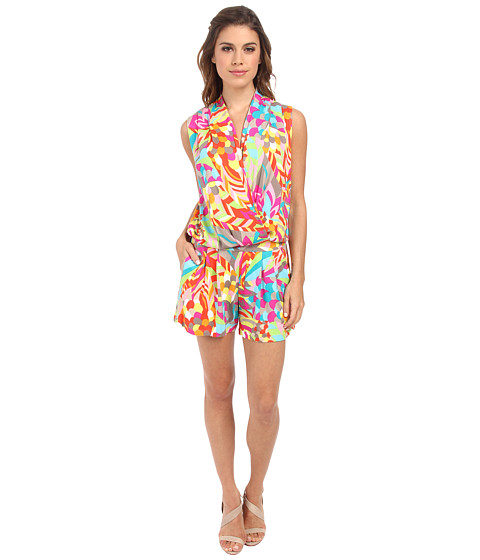 Trina Turk - Giselle Romper (Multi) Women's Jumpsuit & Rompers One Piece